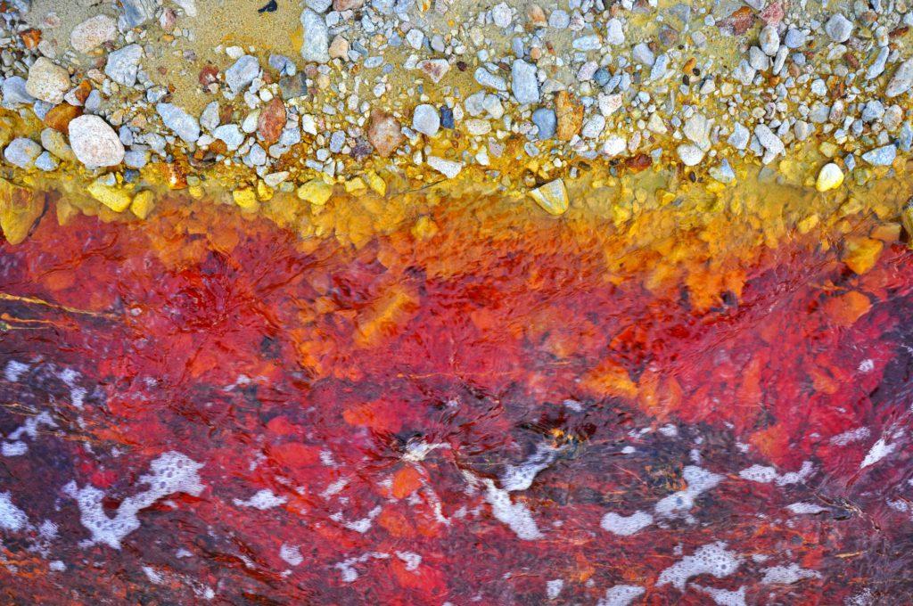 Industrial mining waste water